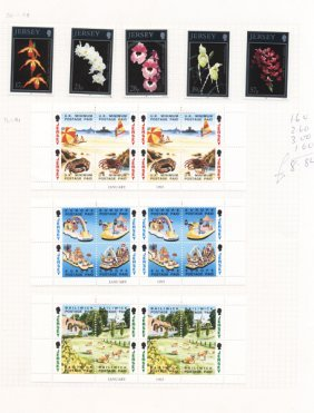 1993 Jersey Mint Stamp Album Page