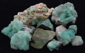 204.5ct Better Grade Colombian Emerald Rough