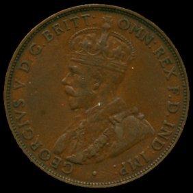 1931m Australia Large Penny Hi Grade Au50 Bv $200