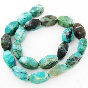 "360twc Turquoise Lg. Bead Strand 16"""