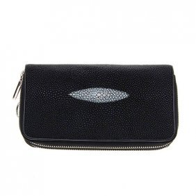 Stingray Hide Clutch Purse Wallet