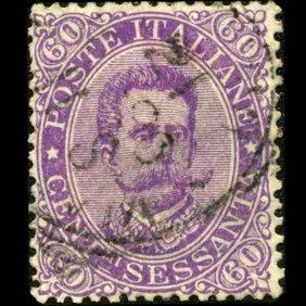 1889 Scarce Italy 60c Stamp