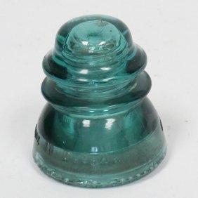Antique Glass Electric Insulator