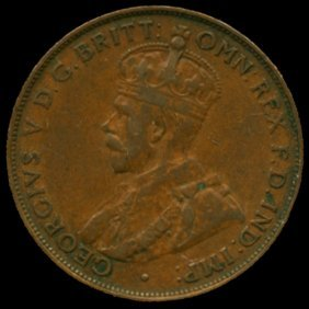 1932m Australia Large Penny Hi Grade Xf Bv $60
