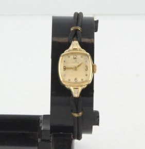 Vintage Ladies Omega Goldfilled Watch