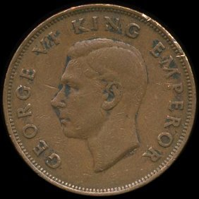 1942 New Zealand 1p Vf/xf