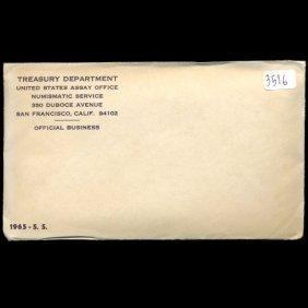 1965 Us Mint Special Mint Set Unopened