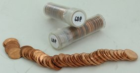 1968 Unsearched Estate Hoard Bu 1c 3 Rolls Of 50