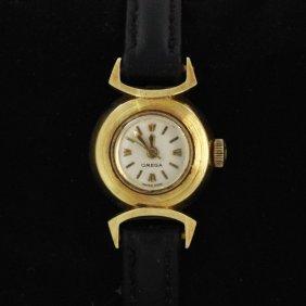 Vintage Omega 14k Ladies Watch