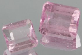 2.7ct Pink Tourmaline Emerald Cut Parcel