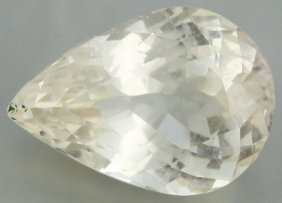 9ct Yellow Kunzite Pear