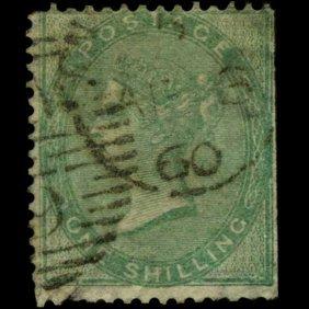 1881 Britain 1s Victoria Stamp