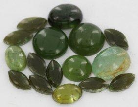 9.1ct Green Tourmaline Parcel