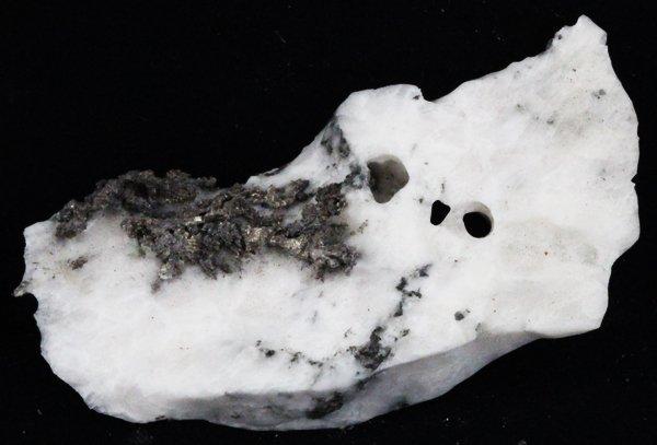 145ct RARE Natural Silver Crystal Cluster on Matrix