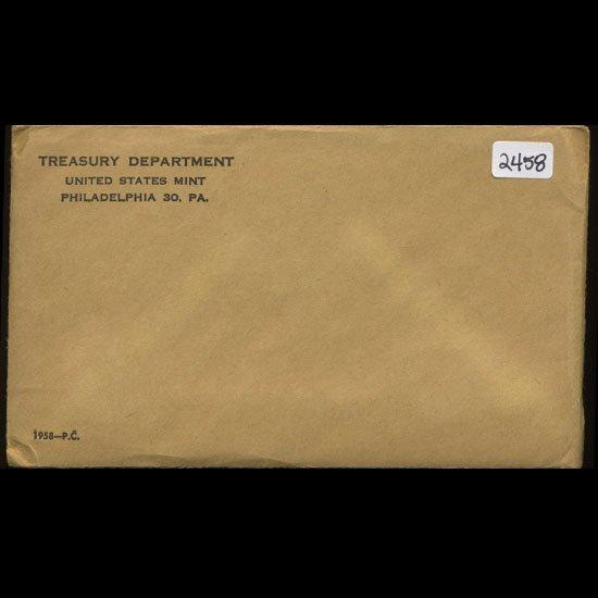 1958 Scarce Unopened Envelope Proof Set