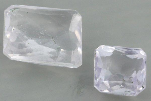 9.1ct Frost Kunzite Emerald Parcel