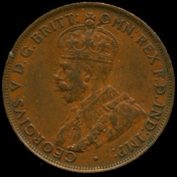 1931M Australia Large Penny Hi Grade Almost Unc HIGH