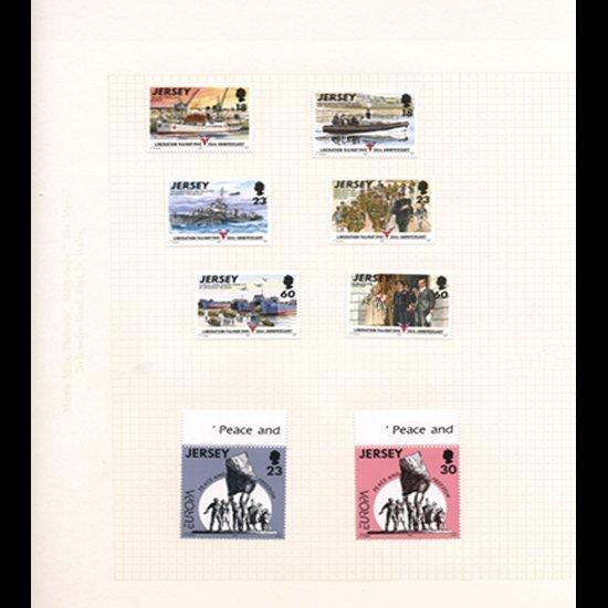 Jersey Mint Margin Single Album Page 8 Pcs