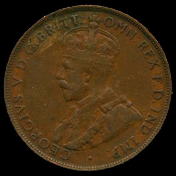 1928M Australia Large Penny Hi Grade XF HIGH BOOK VAL