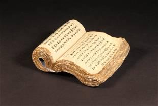 A Porcelian Book Like Ornamnet