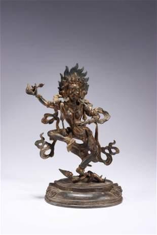 A Buddha Bronze Figure Statue