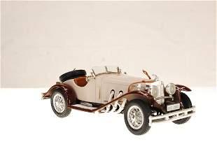 burago Elegant Italian Made 1928 Cream Mercedes Benz