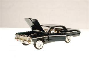 1/24 SCALE 1964 CHEVY IMPALA SS - Die cast metal