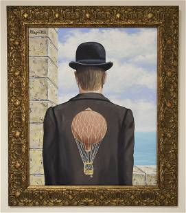 IN THE STYLE OF RENE MAGRITTE (AFTER) SURREALIST