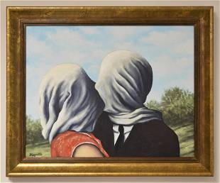 IN THE STYLE OF RENE MAGRITTE (AFTER). SURREALIST