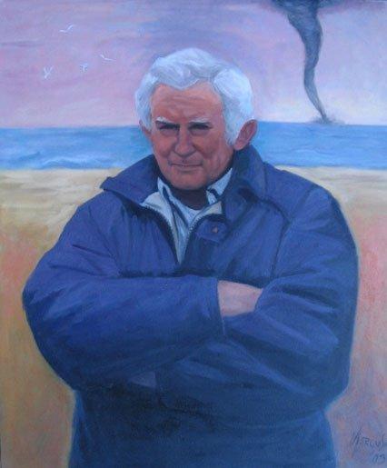 7: Painting, Portrait  Norman Mailer
