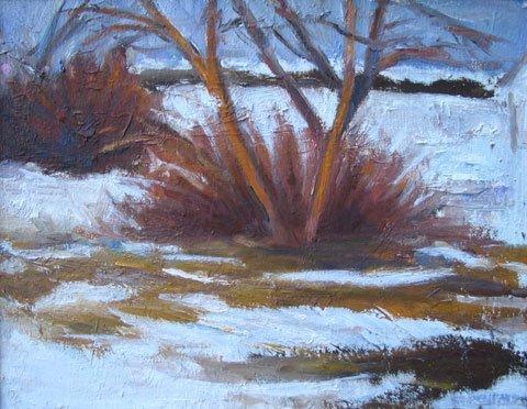 8: Painting Provincetown Winter Landscape