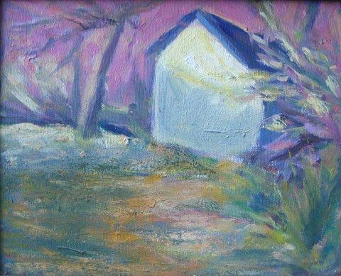 9: Painting, Provincetown Farm Barn