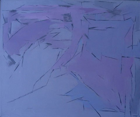 13: Painting Provincetown Artist  Abstract
