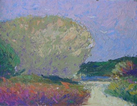 14: Painting Provincetown artist Landscape