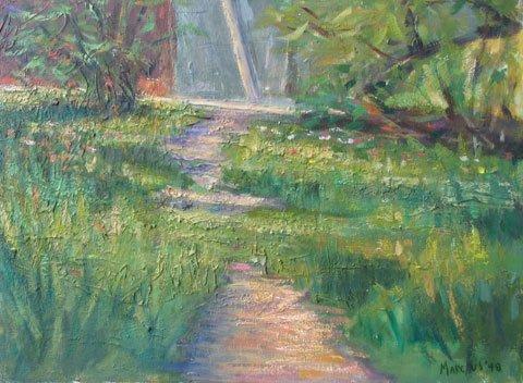 17: Painting Provincetown artist Landscape