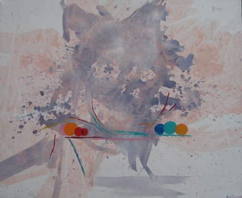 19: Painting Provincetown artist Abstract