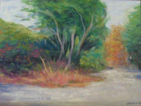21: Painting Landscape Provincetown artist