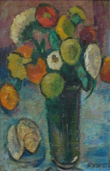129: Painting AIC artist, Still Life