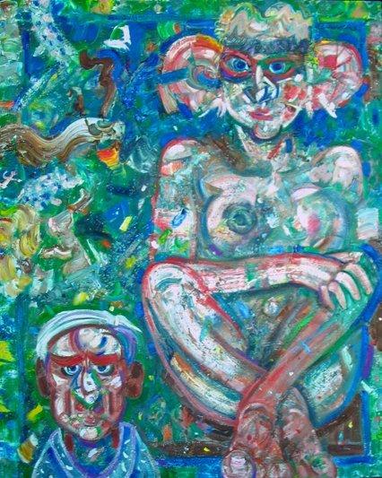 75: Painting, Robert  Beauchamp, oil, Provincetown