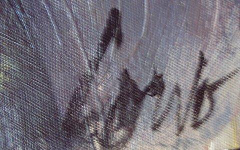 86: Painting, Canadian, Joann  Corno, oil, Female Nude - 3