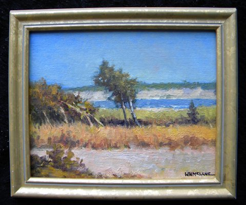 119: Painting, oil, Landscape, William N. McLane - 2