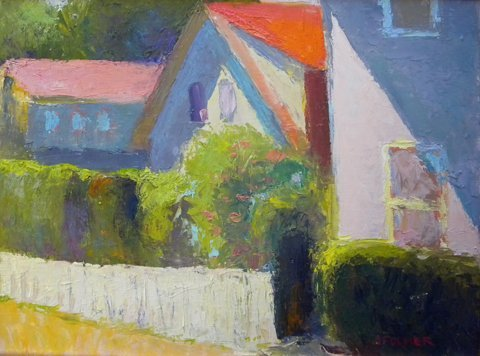 138: Painting, oil, Provincetown, Judith Fulmer