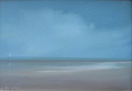 4: oil, Anne Packard, Provincetown Bay, Landscape
