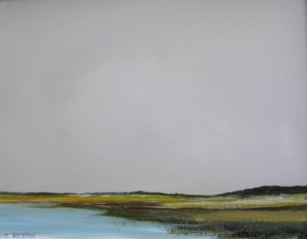 5: oil, Anne Packard, Provincetown, landscape