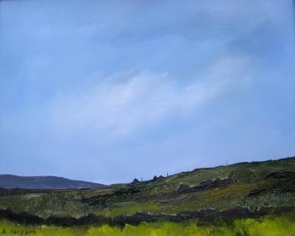 6: oil, Anne Packard, Provincetown, landscape