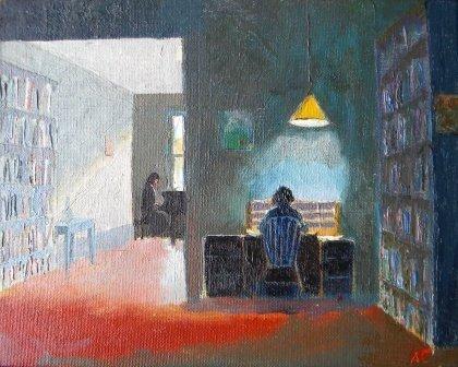 7: oil, Arthur Cohen, Provincetown, Elizabeth
