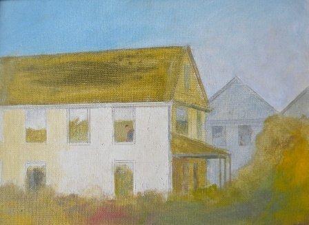 8: oil, Provincetown, Arthur Cohen, Townscape
