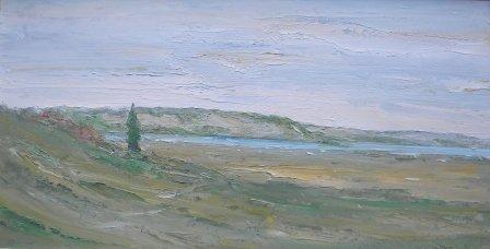 23: oil, Wellfleet, John Mulcahy, Duck Creek
