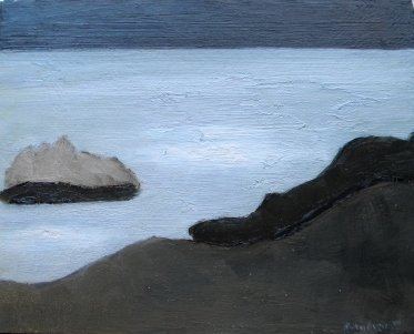30: oil, signed Milton Avery, 1947, abstract