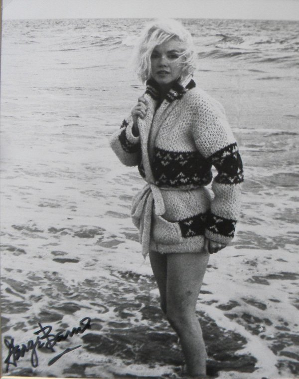 5: Marilyn Monroe in Sweater in Water, 1962, with Georg
